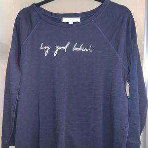 Ann Taylor loft sweatshirt